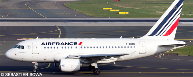 Air France Airbus A318 Decal