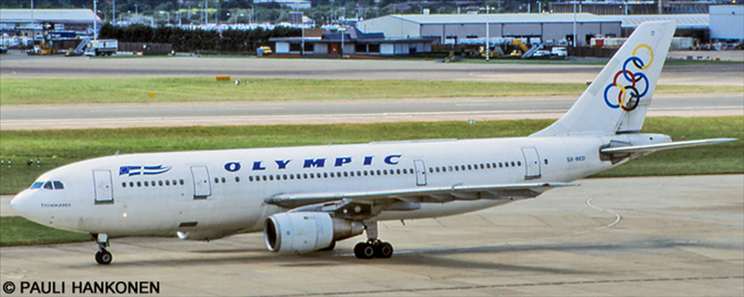 Olympic Airways Airbus A300B4 Decal