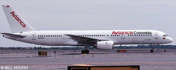 Avianca Boeing 757-200 Decal