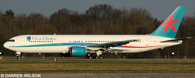 First Choice Airways Boeing 767-300 Decal