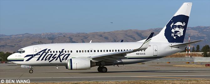 Alaska Airlines Boeing 737-700 Decal