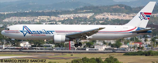 Amerijet International Boeing 767-300 Decal