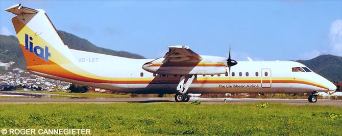 LIAT DeHavilland Dash 8-300 Decal