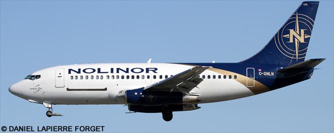 Nolinor Aviation Boeing 737-200 Decal