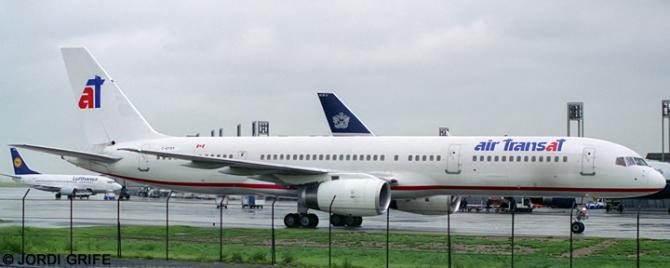 Air Transat, Nationair --Boeing 757-200 Decal