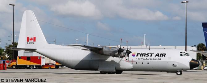 First Air Lockheed C-130 Hercules Decal