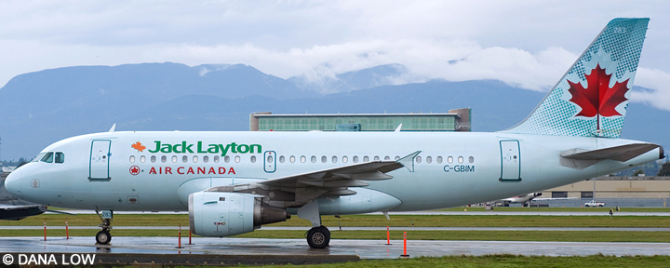 Air Canada Airbus A319 Decal