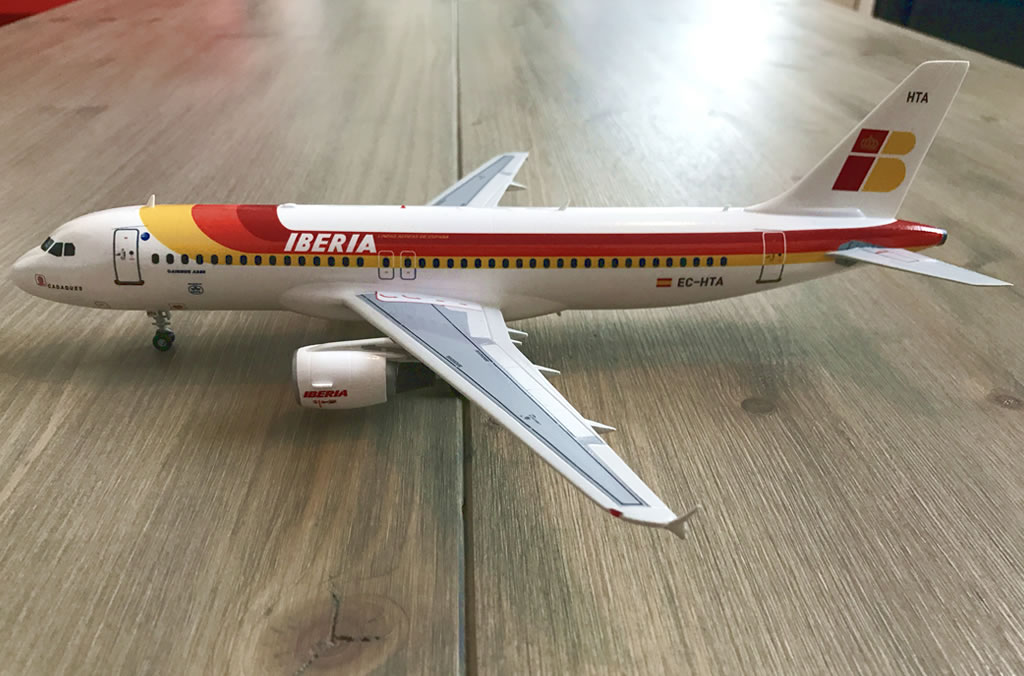 Iberia Airbus A320 (Old Livery) - Revell 1/144 | V1 Decals