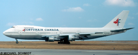 Fortunair Canada -Boeing 747-200 Decal