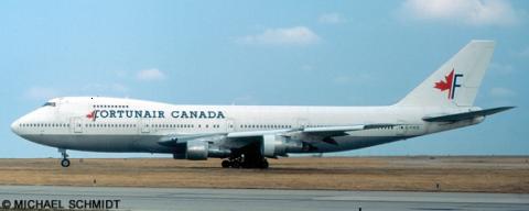 Fortunair Canada -Boeing 747-200 Decal