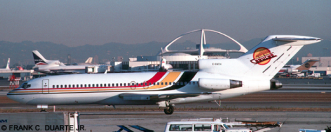 Vancouver Canucks Boeing 727 --Boeing 727-100 Decal
