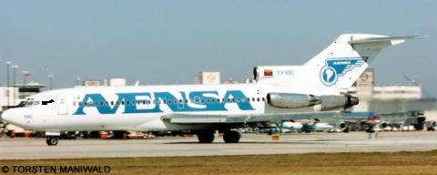 Avensa Boeing 727-100 Decal