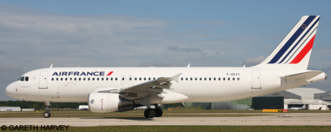 Air France Airbus A320 Decal