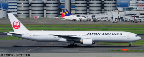 Japan Airlines (JAL) -Boeing 777-300 Decal