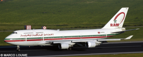Royal Air Maroc (RAM) -Boeing 747-400 Decal