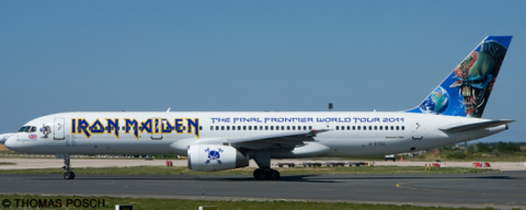 Iron Maiden -Boeing 757-200 Decal