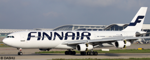 Finnair -Airbus A340-300 Decal