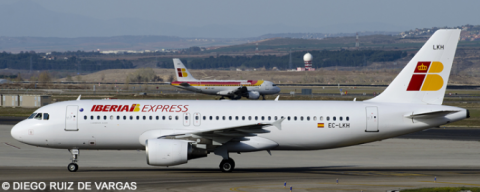 Iberia Express Airbus A320 Decal