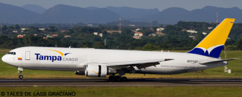 Tampa Cargo -Boeing 767-300 Decal