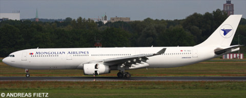 MIAT Mongolian -Airbus A330-300 Decal