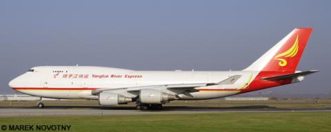 Yangtze River Express -Boeing 747-400 Decal