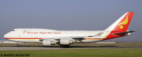 Yangtze River Express -Boeing 747-400 Decal