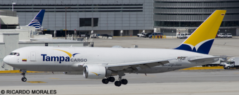 Tampa Cargo -Boeing 767-200 Decal