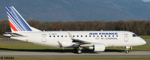 Air France Regional -Embraer E170 Decal