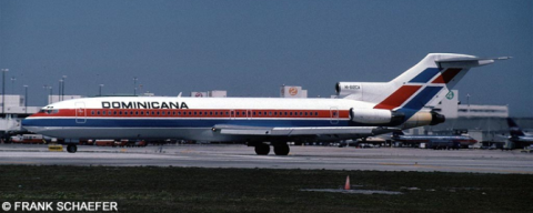 Dominicana -Boeing 727-200 Decal