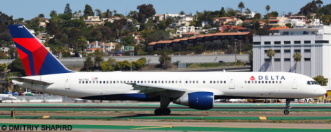 Delta Airlines --Boeing 757-200 Decal