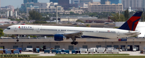 Delta Airlines -Boeing 757-300 Decal