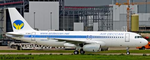 Air Deccan Airbus A320 Decal