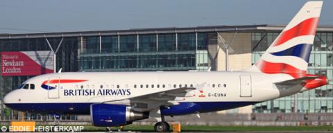 British Airways Airbus A318 Decal