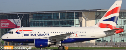 British Airways Airbus A318 Decal