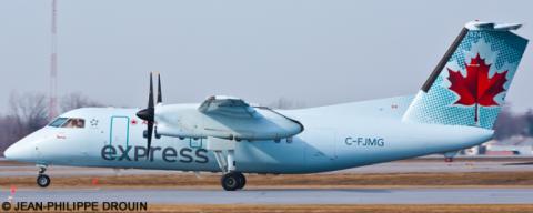 Air Canada Express, Air Canada Jazz -DeHavilland Dash 8-100 Decal