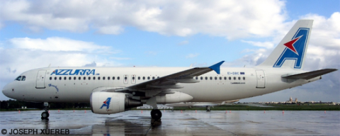 Azzurra Air Airbus A320 Decal