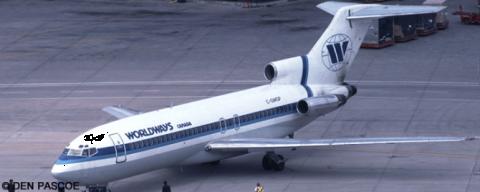 Worldways Canada --Boeing 727-100 Decal