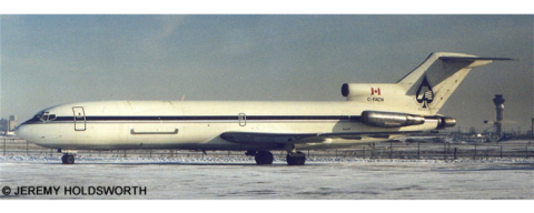All Canada Express (ACE) -Boeing 727-200 Decal