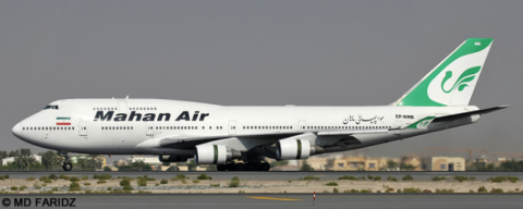 Mahan Air -Boeing 747-400 Decal