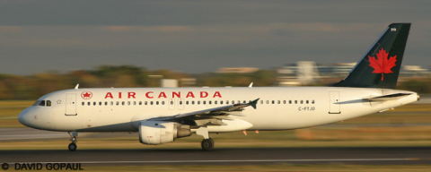 Air Canada Airbus A320 Decal