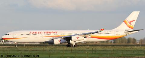 Surinam Airways -Airbus A340-300 Decal