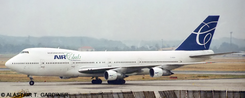 Air Club International -Boeing 747-200 Decal