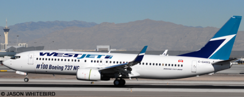 Westjet --Boeing 737-800 Decal