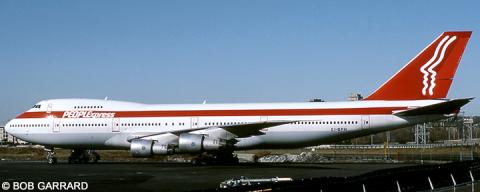 People Express, Global International Airways -Boeing 747-100 Decal