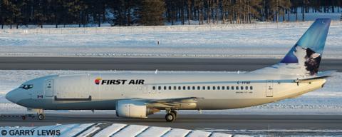 First Air --Boeing 737-400 Decal