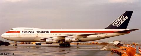 Flying Tigers, Global International Airways -Boeing 747-100 Decal