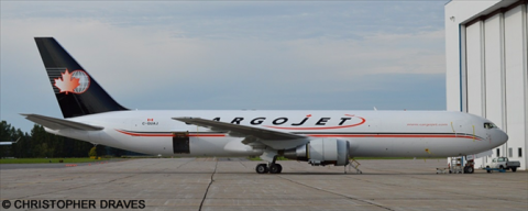 Cargojet -Boeing 767-300 Decal