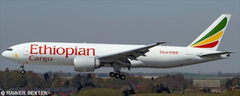 Ethiopian Cargo -Boeing 777-200 Decal