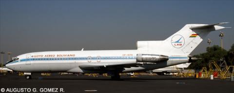 Lloyd Aereo Boliviano (LAB) --Boeing 727-100 Decal
