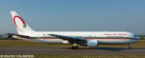 Royal Air Maroc (RAM) -Boeing 767-300 Decal
